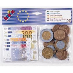 Obrázek Euro bankovky a mince