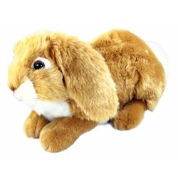 Obrázek Plyšový Zajíc Hnědý Ležící 30 cm