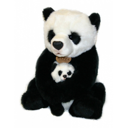 Obrázek Plyšová Panda 27 cm s Baby