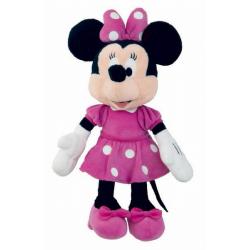 Obrázek Plyšová Minnie 25cm Růžové šaty