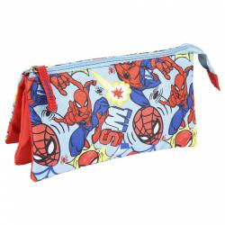 Obrázek Penál na zip Spiderman červený