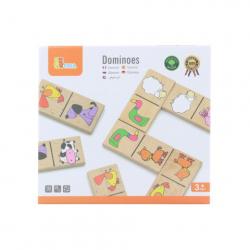 Obrázek Dřevěné domino - domácí zvířátka