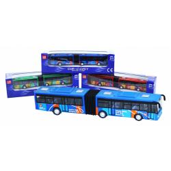Obrázek autobus kovový kloubový 3 druhy