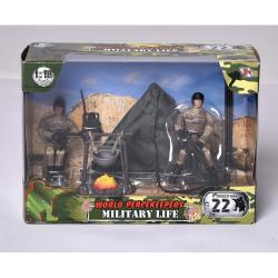 Obrázek Vojenská sada s figurokou - 2 druhy