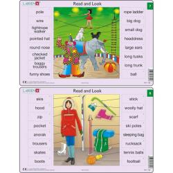 Obrázek Puzzle Angličtina - slovíčka RA4 16 dílků