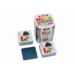 Obrázek Mega Pexeso Povolání 128 karet v plechové krabičce 6x6x8,5cm Hmaťák