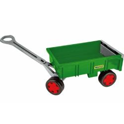Obrázek Vozík/Vlečka dětská plast 95cm Wader Farmer nosnost 60kg 12m+