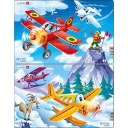 Obrázek Puzzle Letadla 13 dílků