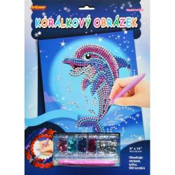 Obrázek Korálkový obrázek - Delfín