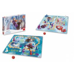 Obrázek Člověče, nezlob se + Magický les 2v1 Ledové království II/Frozen IIspol. hry v krabici 33,5x23x3,5cm