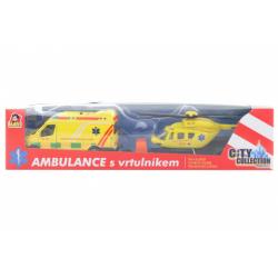 Obrázek Sada ambulance + vrtulník se světlem a zvukem