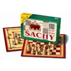 Obrázek Šachy, Dáma, Mlýn