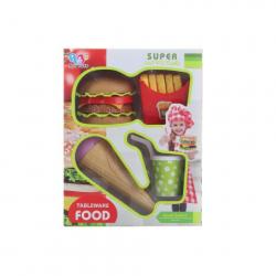 Obrázek Sada jídla fast food
