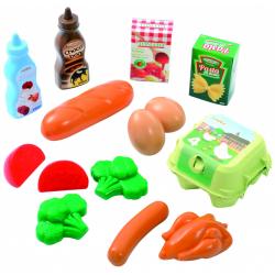 Obrázek Plastové hračky potraviny v síťce