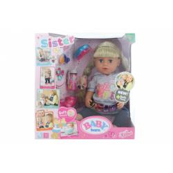 Obrázek Sestřička BABY born Soft Touch blondýnka, 43 cm TV 1.10.-31.-12.