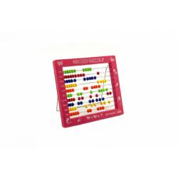 Obrázek Počítadlo guľôčkové plast 19cm - 4 farby 36ks v boxe