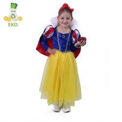 Obrázek Dětský kostým Sněhurka (M) EKO