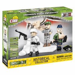 Obrázek Cobi 2039  3 figurky s doplňky German Elite Infantry