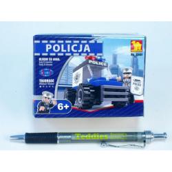 Obrázek Stavebnice Dromader Policie Auto 23101 33ks