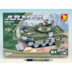 Obrázek Stavebnice Dromader Vojáci Tank 22502 213ks
