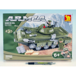 Obrázek Stavebnica Dromader Vojaci Tank 22502 213ks