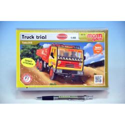 Obrázek Stavebnice Monti 76 Tatra 815 Truck Trial 1:48