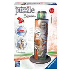 Obrázek Puzzle 3D - Šikmá veža v Pise Vlajková edícia 216 dielikov