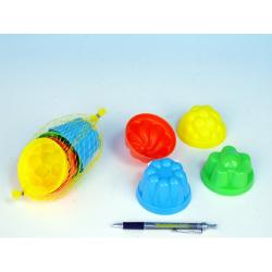 Obrázek Formičky / Bábovky okrúhle priemer 8cm 4ks v sieťke