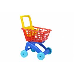 Obrázek Nákupní vozík/košík plast 31x59x40cm