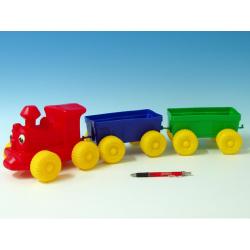 Obrázek Vlak + 2 vagony plast
