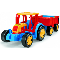 Obrázek Traktor Gigant s vlekem plast 102cm