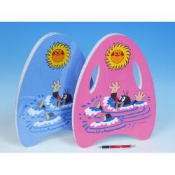 Obrázek Plavací deska Krtek pěnová 33x45cm - 2 barvy