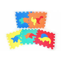 Obrázek Pěnové puzzle Dinosauři 30x30cm 10ks