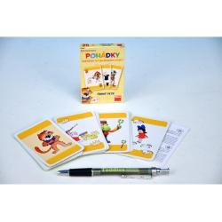 Obrázek Černý Petr Pohádky společenská hra - karty v papírové krabičce