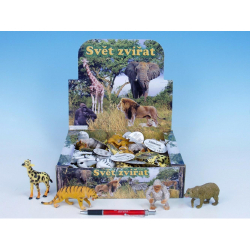 Obrázek Zvieratká safari / ZOO plast 8-13cm - 8 druhov