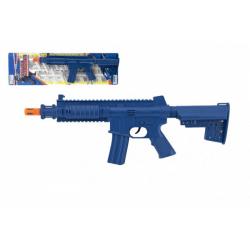 Obrázek Samopal/puška na setrvačník plast 40cm na kartě 15x52cm