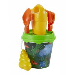 Obrázek Kyblíček Džungle s konvičkou a příslušenstvím 17 cm