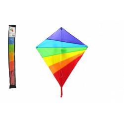 Obrázek Drak létající nylon 88x81cm barevný v sáčku 10x86cm