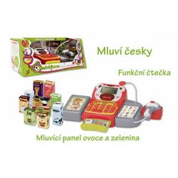 Obrázek Pokladna česky mluvící dig.plast 36cm s doplňky