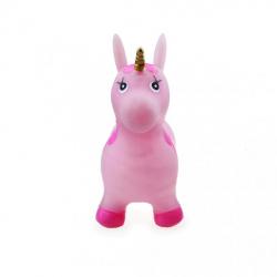 Obrázek Zvířátko skákací - třpytivě růžový jednorožec