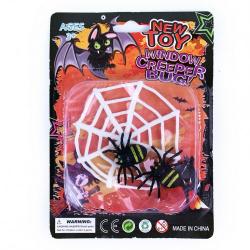 Obrázek dekorace pavučina s pavouky