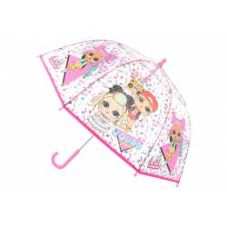 Obrázek Deštník L.O.L. průhledný manuální