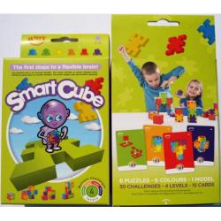 Obrázek Hlavolamy 6 ks v krabičce, obtížnost 3-6 let (Smart Cube)
