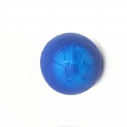 Obrázek Chameleon futbalová lopta 6,5 cm - modrá