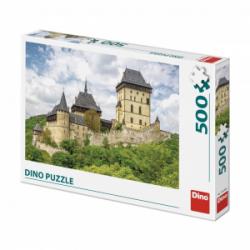 Obrázek Puzzle 500 dílků hrad Karlštejn