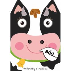 Obrázek Omalovánka A4 zvířátka - Kráva