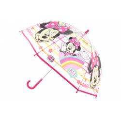 Obrázek Deštník Minnie průhledný manuální