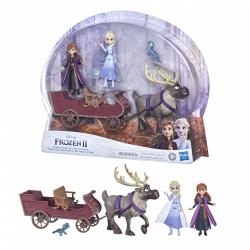 Obrázek Ledové království 2 kamarádi na saních