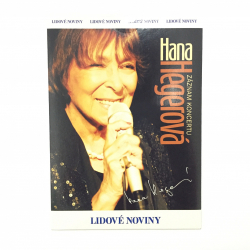 Obrázek DVD Hana Hegerová Záznam koncertu