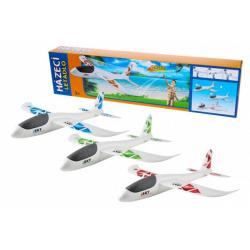 Obrázek Letadlo házecí polystyrén model 47x49cm v krabičce 50x13x6cm